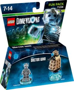 LEGO Dimensions Fun Pack - Cyberman/Dalek