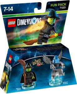 LEGO Dimensions 71221 Fun Pack - Wicked Witch/Winged Monkey