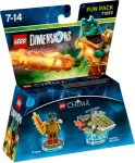 LEGO Dimensions Fun Pack - Cragger/Swamp Skimmer