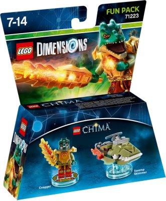LEGO Dimensions Fun Pack - Cragger/Swamp Skimmer