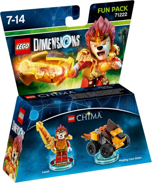 LEGO Dimensions Fun Pack - Laval/Lion Rider