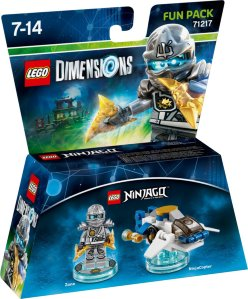 LEGO Dimensions 71217 Fun Pack Zane