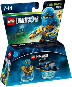 LEGO Dimensions 71215 Fun Pack Jay