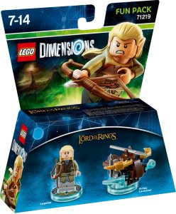 LEGO Dimensions 71219 Fun Pack Legolas