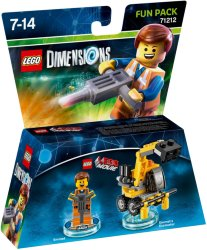LEGO Dimensions 71212 Fun Pack Emmet