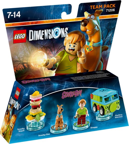 LEGO DIMENSIONS: SCOOBY DOO Team Pack