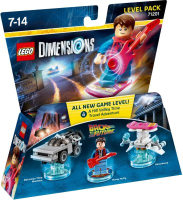 LEGO DIMENSIONS: BACK TO THE FUTURE Level Pack