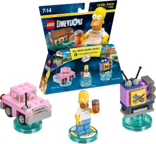 Dimensions 71202 Fun Pack The Simpsons