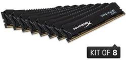 Kingston HyperX Savage DDR4 2400MHz 128GB (8x16GB)