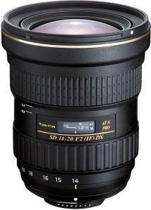 Tokina AT-X 14-20mm f/2 Pro DX for Canon