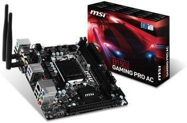 MSI B150I Gaming Pro AC