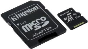 Kingston MicroSDXC 256GB UHS Class 1