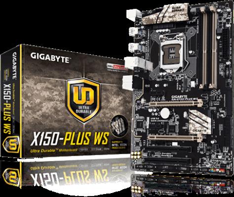 Gigabyte GA-X150-PLUS WS