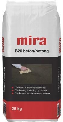 Tørrbetong B20 25kg
