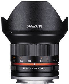 Samyang 12mm f/2.0 NCS CS for EOS M