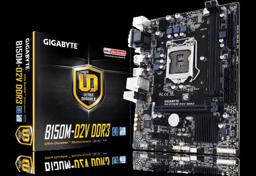 Gigabyte GA-B150M-D2V DDR3