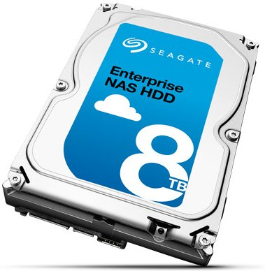 Seagate NAS HDD 8TB (ST8000NE0001)