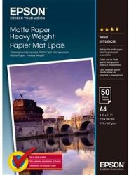 Epson Matte Paper Heavy Weight 50 stk