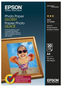 Photo Paper Glossy 20 stk
