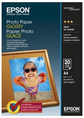 Epson Photo Paper Glossy 20 stk