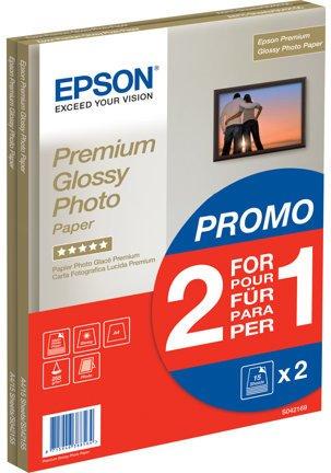 Epson Premium Glossy Photo Paper 30 stk (2x15)