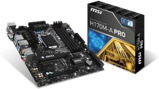MSI H170M-A Pro