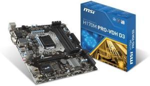 MSI H170M Pro-VDH D3