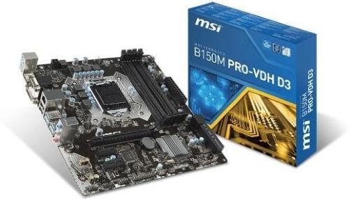 MSI B150M PRO-VDH D3