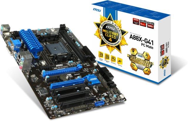MSI A88X-G41 PC Mate