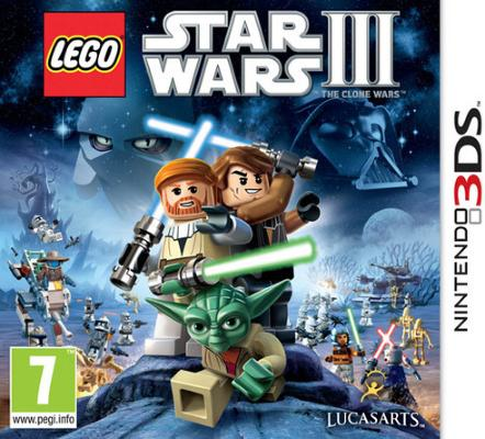 LEGO Star Wars III: The Clone Wars til 3DS