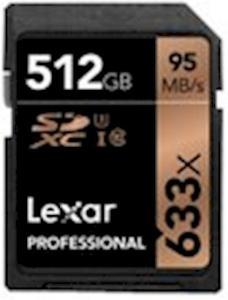 Lexar SDXC Professional 512GB