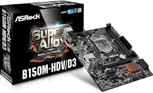 ASRock B150M-HDV/D3