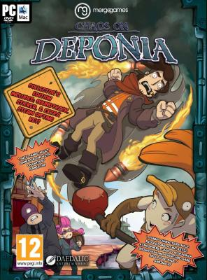 Chaos on Deponia til PC