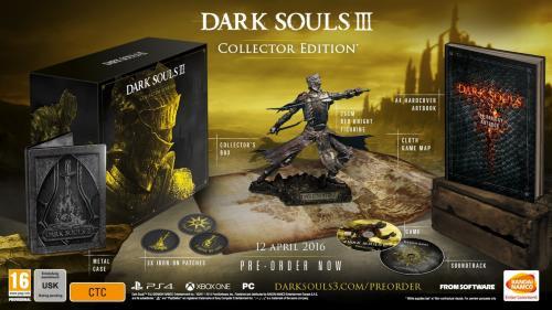 Dark Souls III Collectors Edition til Playstation 4