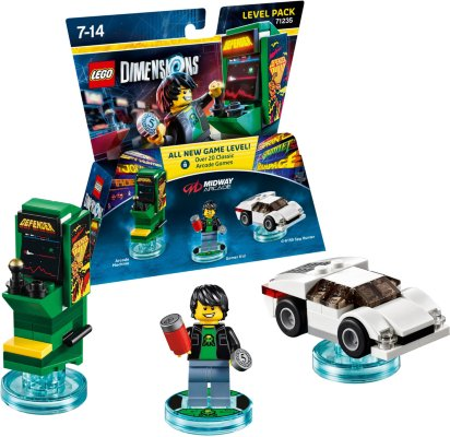 LEGO Dimensions - Retro Games