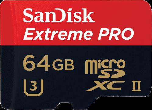 SanDisk Extreme Pro microSDXC UHS-II 64GB