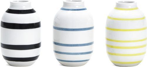 Kähler Omaggio Vase Mini 3-pack