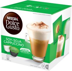 Dolce Gusto kapsler Soy Cappuccino