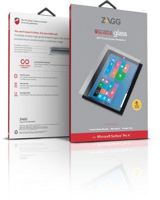 Zagg invisibleSHIELD GLASS Screen Coverage Microsoft Surface Pro 4