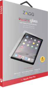 Zagg invisibleSHIELD GLASS Screen Coverage iPad Pro