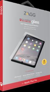 Zagg invisibleSHIELD GLASS Screen Coverage iPad Pro