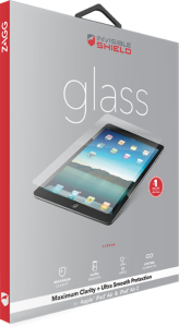 Zagg invisibleSHIELD GLASS Screen Coverage iPad Mini 4