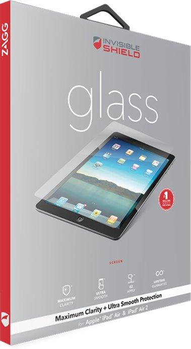 Zagg invisibleSHIELD GLASS Screen Coverage iPad Mini 4
