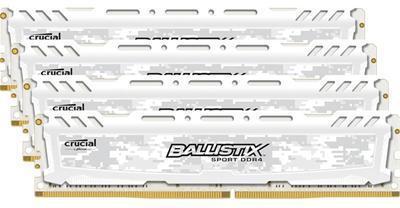 Crucial Ballistix Sport DDR4 2400MHz CL16 16GB (4x4GB)