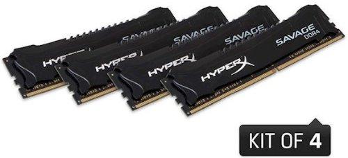 Kingston HyperX Savage DDR4 2666MHz 64GB CL15 (4x16GB)