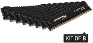 Kingston HyperX Savage DDR4 2666MHz 128GB CL15 (8x16GB)