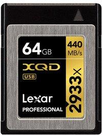 Lexar XQD Professional 2933X XQD 64GB