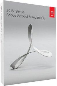 Adobe Acrobat Standard DC 2015