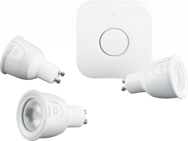 Philips Hue White and color ambiance Startpakke GU10