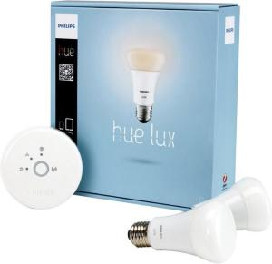 Philips Hue A19 E27 Startpakke (2 lyspærer)